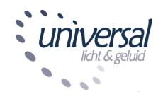 Universal licht & geluid